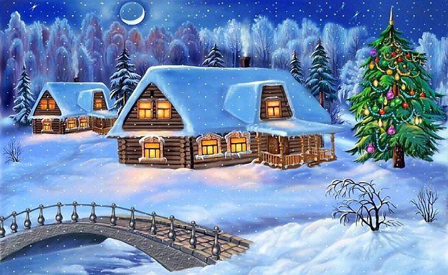 Noel paysages page 10 - Paysage de noel gratuit ...