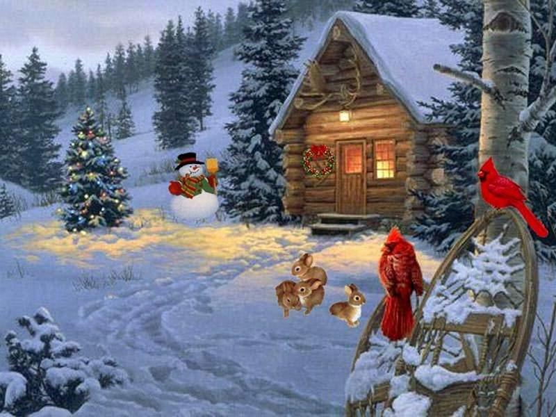 Noel paysages page 8 - Paysage de noel gratuit ...